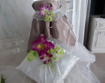 ring bearer pillow plus matching garter