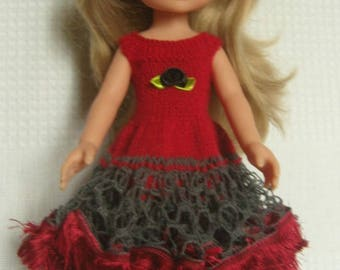 Red ruffle for the sweethearts doll dress.
