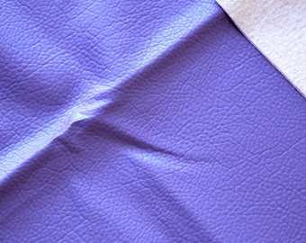Fabric faux leather purple 45 * 50cms