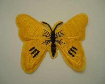 patch Thermo - application - Butterfly - yellow