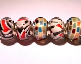 5 European - style 14 mm - A PG252 pandor@-charm beads