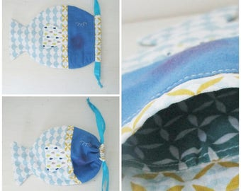 Fish shaped case, pouch or wallet!