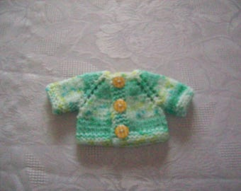 clothing, Cardigan for 32 33 cm dolls by hand with babies or paola reina:gilet