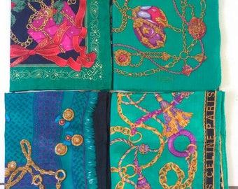 CELINE PARIS VINTAGE Handkerchief