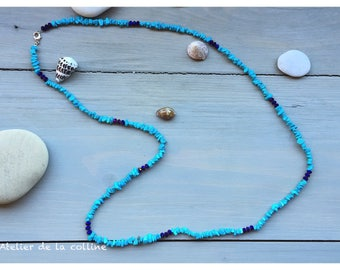 Necklace natural turquoise from the Palma collection