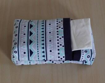 tissue - washable - boho pattern case