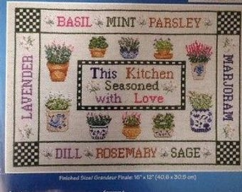 Janlynn Seasoned with Love Counted Cross Stitch Kit