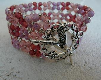 DEW HUMMINGBIRD BRACELET