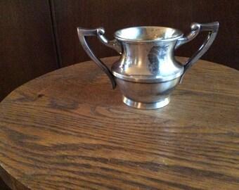 Poole Silver Company Sugar Bowl - Silver Plate