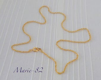 Neck chain 18K gold plated chain