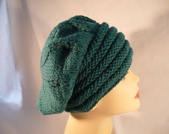 hand made green beret