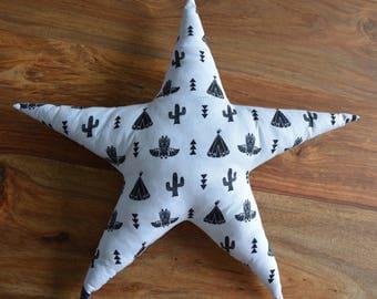 Star fabric Oeko Tex certified cotton