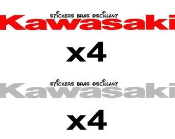 kawasaki z750 swingarm stickers