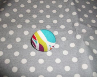ring fabric buttons