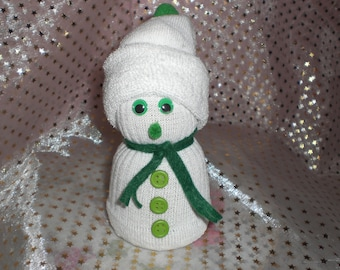 Boy snowman