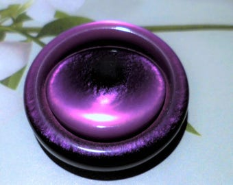 1 button sewing 28 mm purple