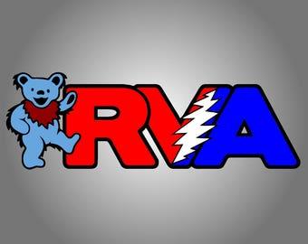 RVA Bear Bumper Sticker