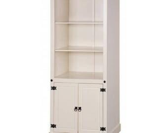 Corona Painted 2 door bookcase