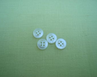 small mother of Pearl Sheen buttons