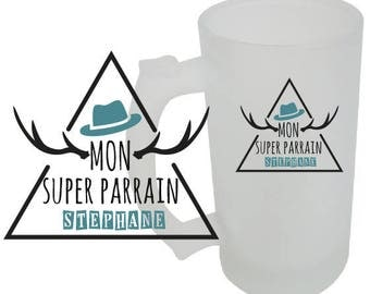 BEER mug special Godfather custom gift