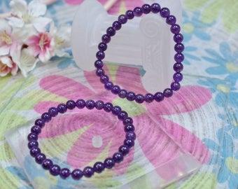 Natural gemstone Amethyst bracelet