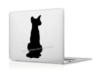 Stickers cat wall art: series cat vinyl sticker decoration sitting Siamese cat