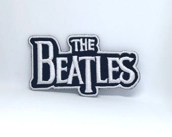 096# The Beatles Music band Iron/ Sew-on Embroidered Patch
