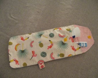 """Exotic"" toothbrush case"