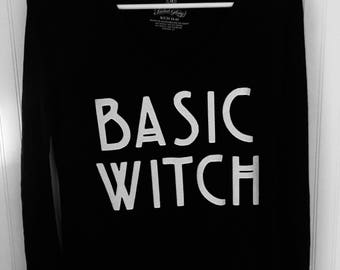 Basic Witch Halloween T Shirt