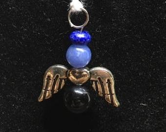 Peace angel charm