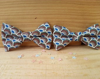 "Bow tie baby-child-teen ""Snowflake"" WAX"