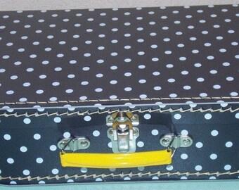 Cardboard child suitcase