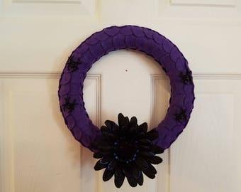 Purple dragon's scale wreath