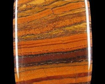 Tiger eye pendant, beautiful cabochon 55 x 35 x 8 mm