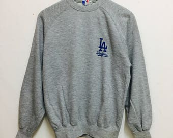 RARE !! Major League Baseball LA Dodges Sweatshirt Sportwear / Baseball / MLB
