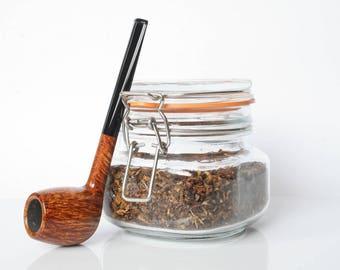 Tobacco smoking traditional briar pipe - Apple