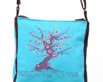 "Bag ""Baby"" Sakura""turquoise lagoon"