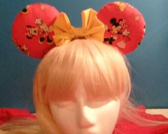 Minnie Mouse stuffed ears