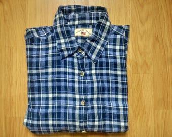 Flannel shirt - blue