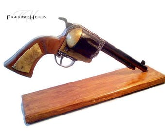 Replica revolver cal.44 1873 Cattleman, made entirely by hand