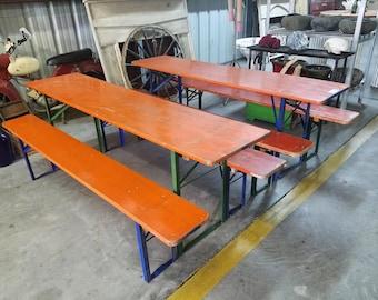 German Biergarten Table Set