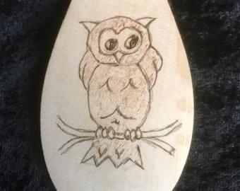 Owl Wooden Spoon