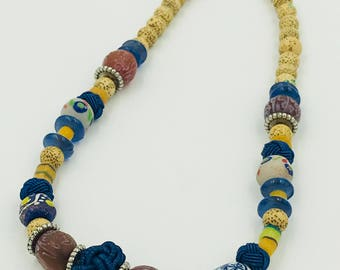 Old World Mixed Bead Necklace