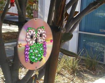 Owl garden spinners
