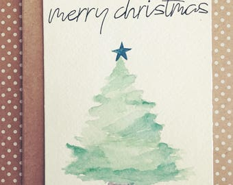 Christmas Tree Greeting Card (Individual)