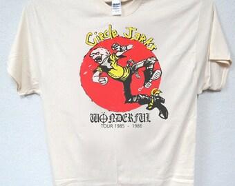 """CIRCLE JERKS, """"85-86 Tour, Retro T-SHIRT,All Sizes , 1192"""