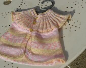 jacket girl pink 12/18 months