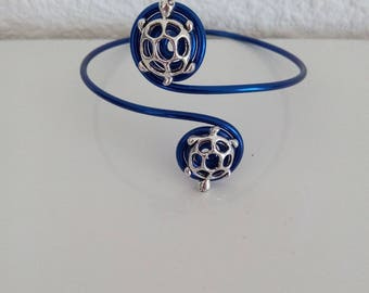 Midnight Blue aluminum bracelet