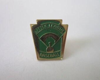 Vintage Little League Baseball Pinback