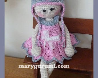 Doll, crochet, Amigurumi plush